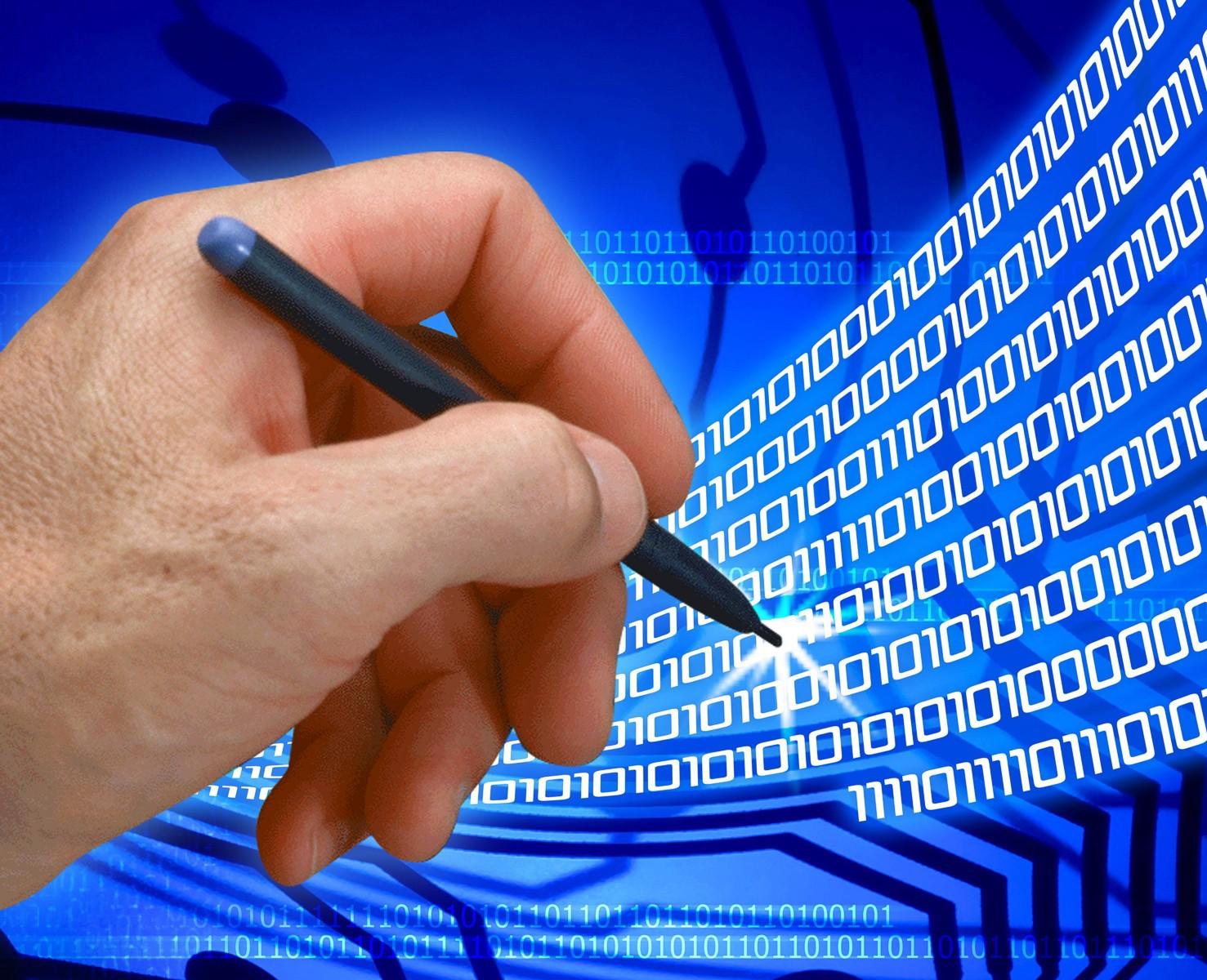 Электронная цифровая подпись: Просто и наглядно