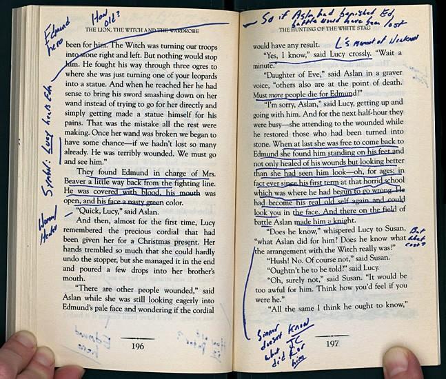 Карандаш — оружие читателя