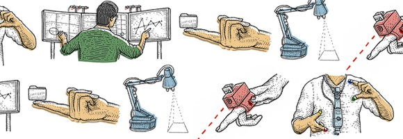 Цифровой интерфейс для реального мира: 5 изобретений лаборатории Fluid Interfaces