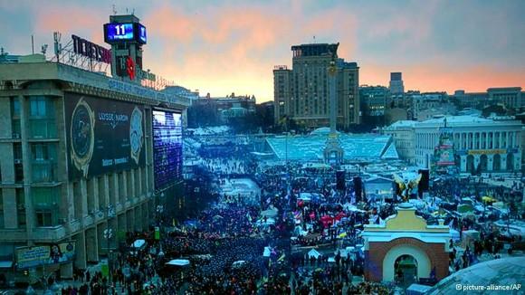 «Евромайдан»: Украинцы проявляют чудеса самоорганизации