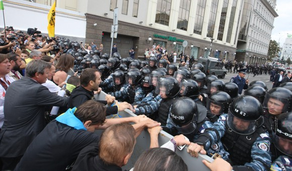 В Киеве не исключают кровопролития