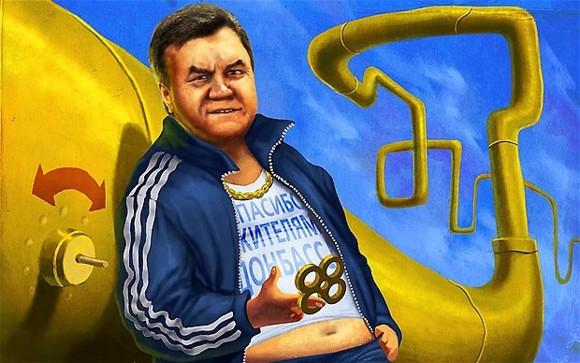 """Янукович вспомнил, как был """"законодателем мод"""" в Донецке - Цензор.НЕТ 7636"""