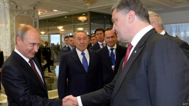 Путин и Порошенко провели двусторонние переговоры