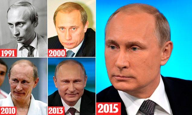 Что Путин сделал со своим лицом?