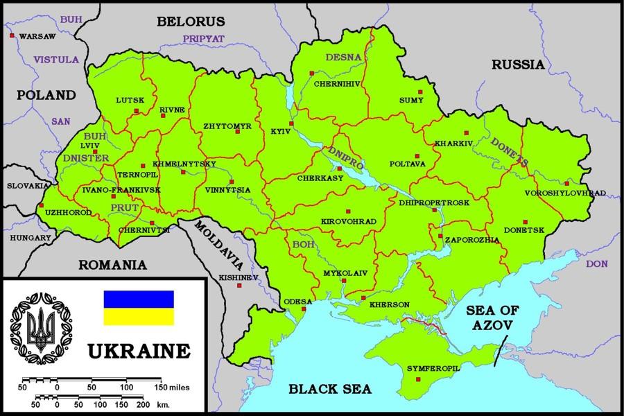 Карты: Как Украина стала Украиной