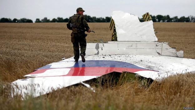 Крушение MH17: очевидцы увидели россиян в экипаже «Бука»
