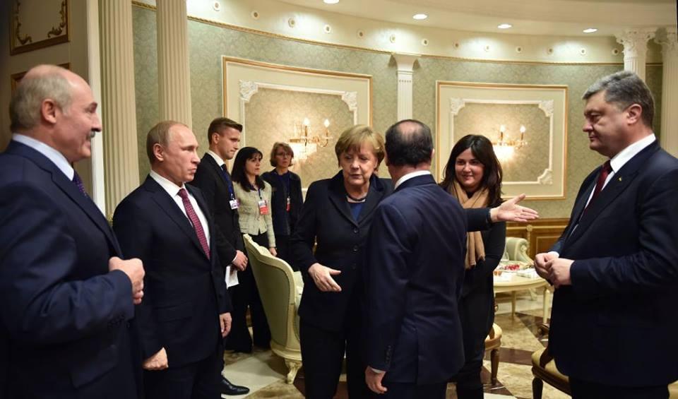 В Минске проходит саммит по украинскому кризису