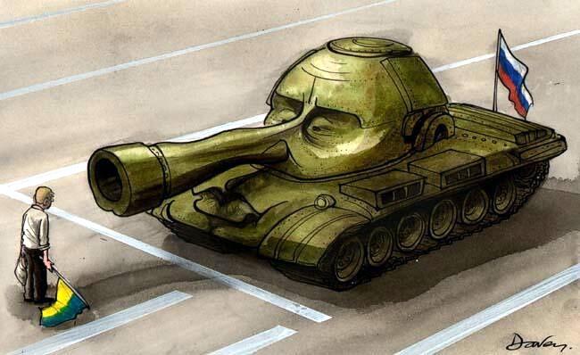 «Террор» вКрыму. Запад должен сейчас вконце концов остановить В. Путина