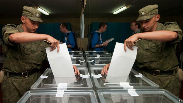 На выборах в Крыму побеждает «Единая Россия»