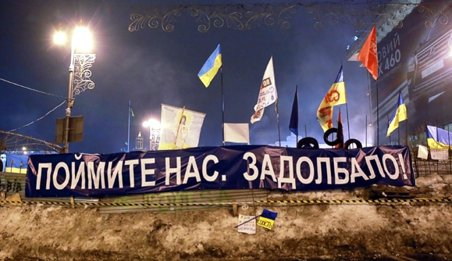 Требования к украинской власти: «Это не за Европу... это за наше будущее»