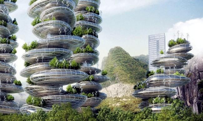 Из чего будут сделаны города будущего