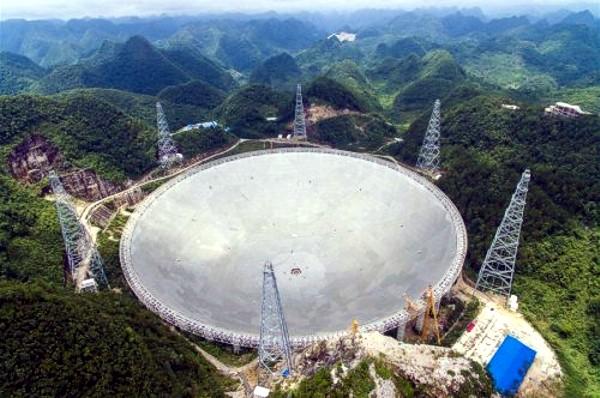 В «Поднебесной» ввели вэксплуатацию крупнейший вмире радиотелескоп