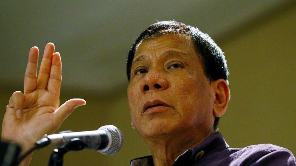 Президент Филиппин, назвавший Обаму «сукиным сыном», заявил, что нехотел его оскорбить