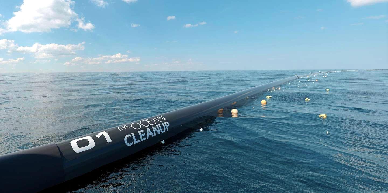 В Тихом океане запустили очистную станцию, которая собирает мусор