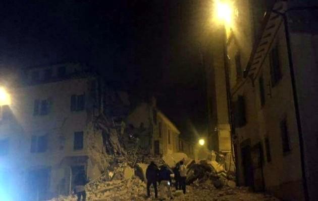 Практически 700 афтершоков случилось вИталии после землетрясения 26октября