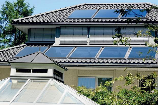 Энергия солнца для отопления помещения