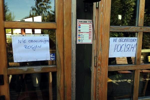 В Польше появился ресторан, где не обслуживают россиян