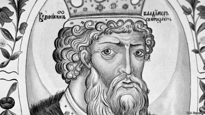 Киевский князь Владимир Святой и политическая злоба дня