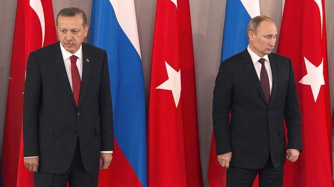 Эрдоган— Путину: «Что выделаете вСирии? Выпосути являетесь оккупантом»
