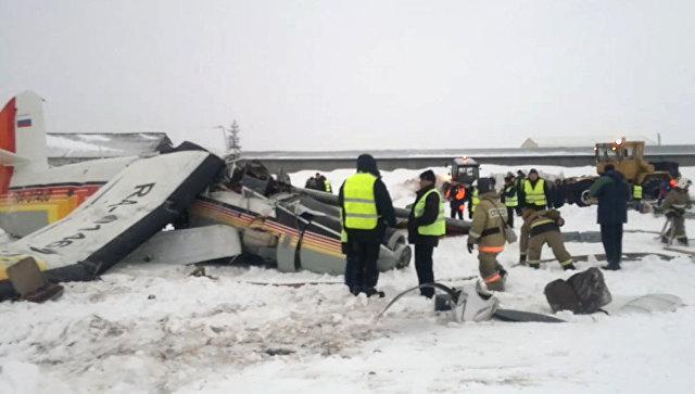 В Российской Федерации при взлете разбился самолет, есть жертвы