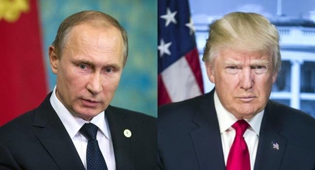 ВКремле назвали темы переговоров В. Путина иТрампа