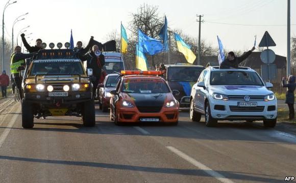 Болевые точки режима Януковича: Что показывает асимметричная война Автомайдана