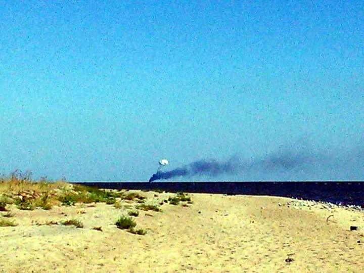 Атакован украинский военный катер у Мариуполя