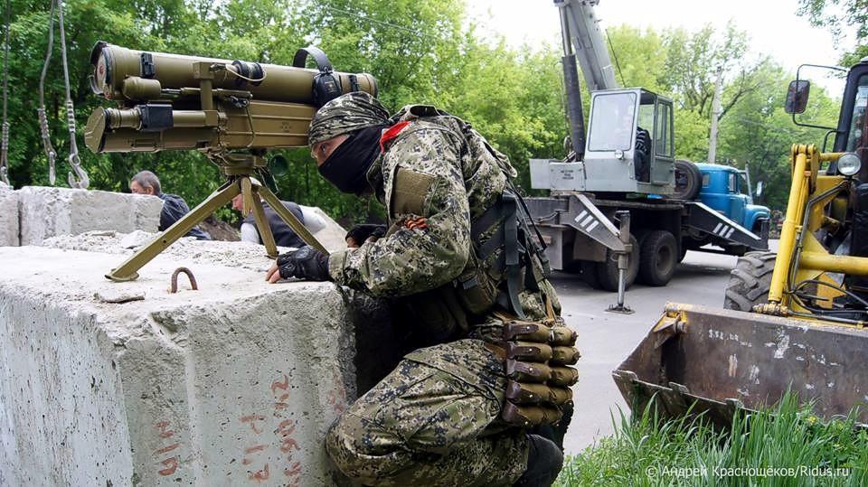 Террористы в Донбассе используют современное российское вооружение