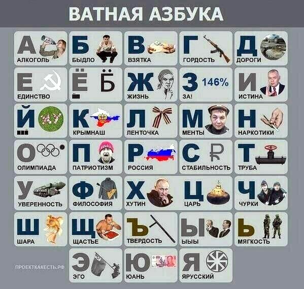 «Ватная азбука»