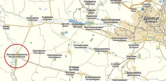 На Велоконовселовку движется автоколонна боевиков ДНР