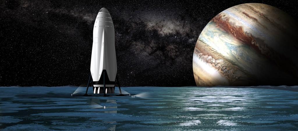 SpaceX: Межпланетная транспортная система