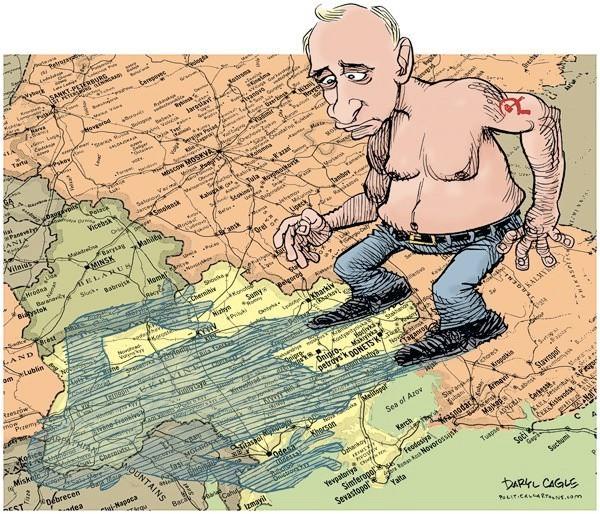 Ответ Путину на его заявление о взятии Киева