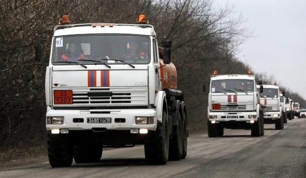 В Донбасс прибыл 13-й «путинский гумконвой»