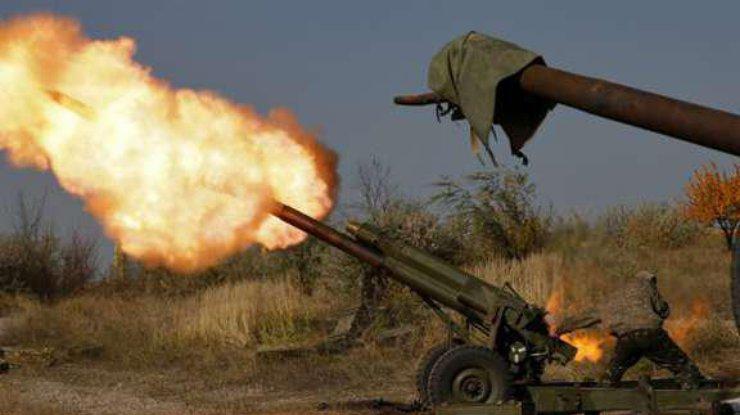 Боевики обстреляли позиции Грузинского легиона на Донбассе