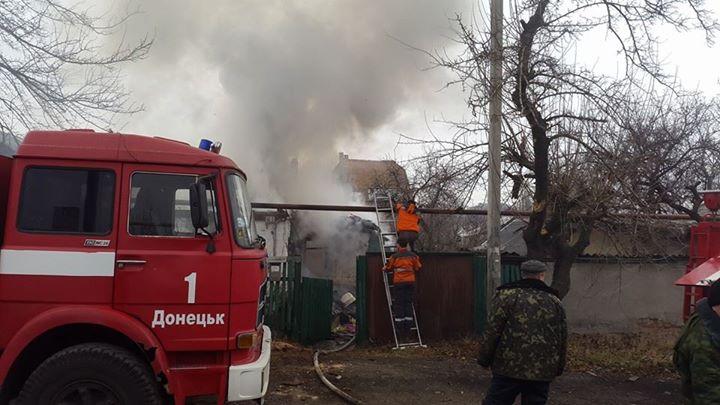 В Донецке обстреляли микрорайон «Азотный», много жертв