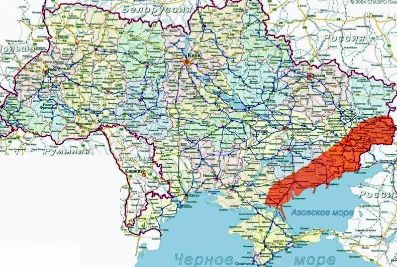 Эксперт: Путин не откажется от сухопутного коридора в Крым