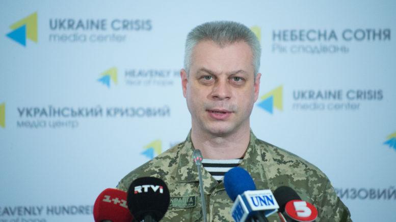 Завчерашний день взоне АТО 11 украинских военных получили ранения