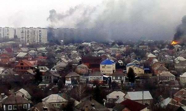 Российско-террористические войска обстреляли Мариуполь