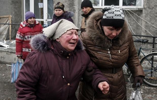 Боевики попали в заполненное посетителями кафе в Счастье, есть жертвы