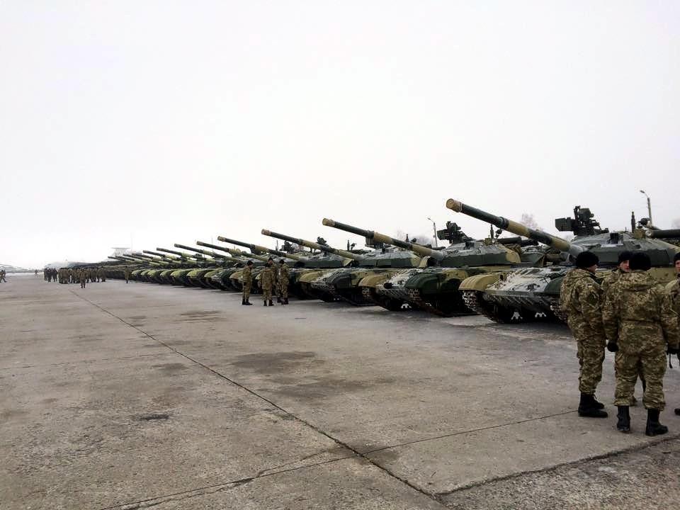 Украинская армия получила новое вооружение