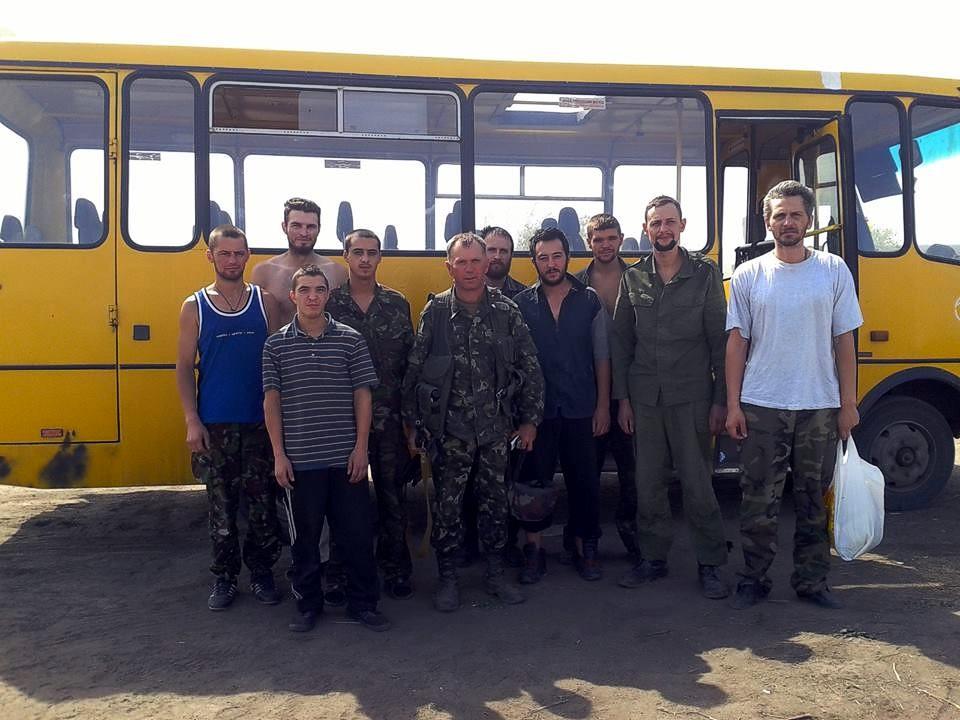 Пресс-центр АТО: Из плена террористов освободили еще 9 украинских военных