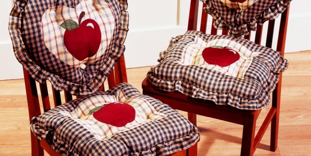 Шьем подушку на стул своими руками 10