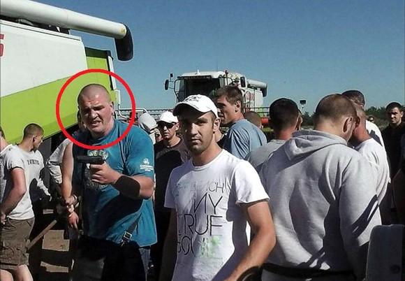 Одним из нападавших на агрофирму Корнацкого оказался борец-чемпион