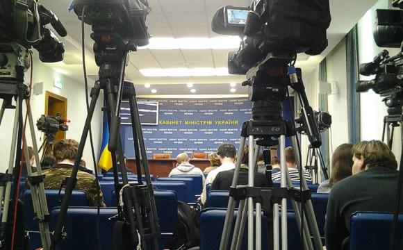 Журналистам запретили передвигаться по зданию Кабинета Министров Украины