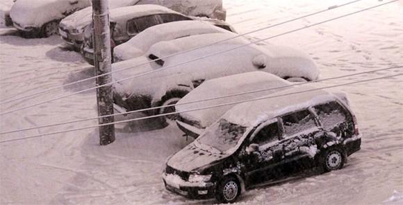 Снегопады в Киеве побили рекорд за 130 лет