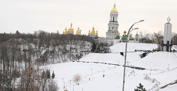 Киево-Печерской Лавре грозит подтопление