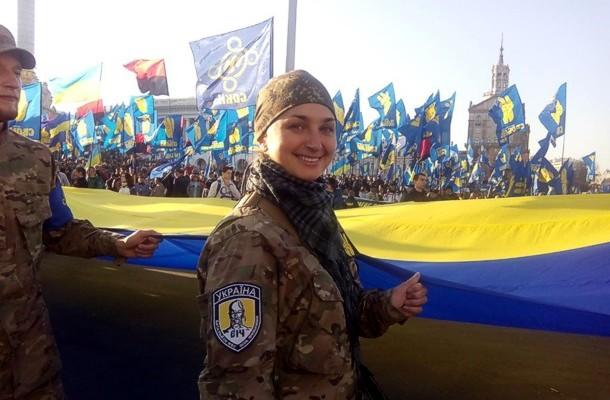 В Киеве проходит Марш славы героев УПА