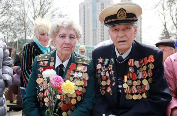 Одесса празднует годовщину освобождения от немецко-фашистских захватчиков