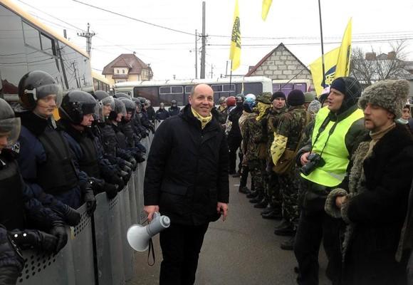 Майдановцы приблизились к Межигорью