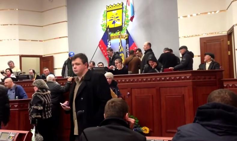 Комбат Семенченко «засветился» на видео в захваченной «ДНР» Донецкой ОГА
